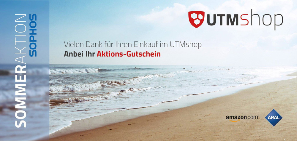 UTMshop Gutscheinaktion digital