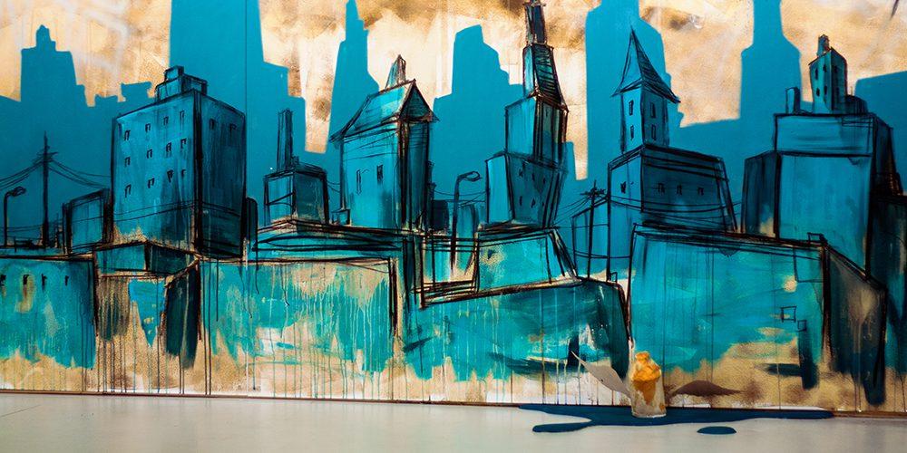 Ausschnitt Graffiti Andy K