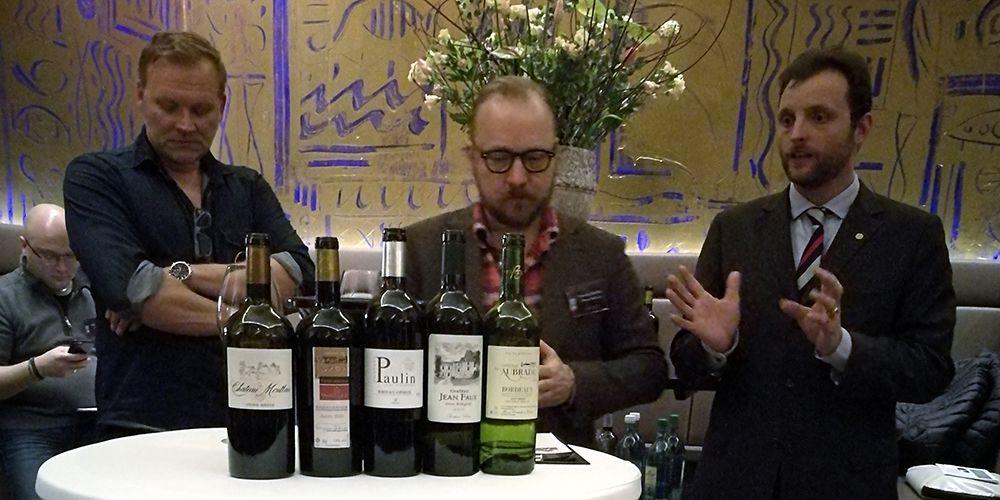Weinverkostung mit Profis