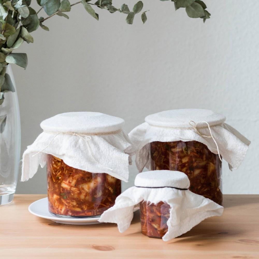 selbstfermentiertes koreanisches Kimchi