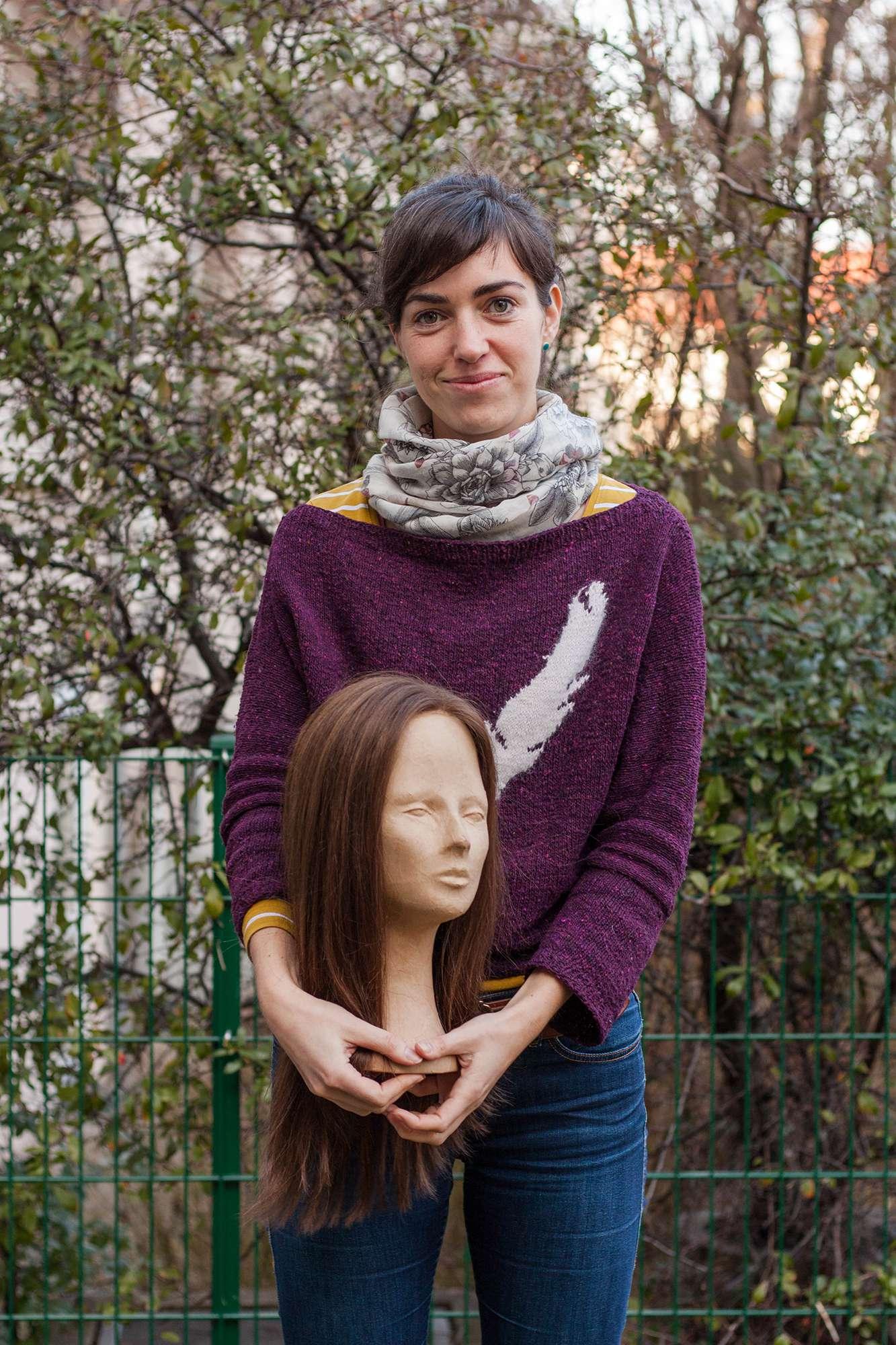 Maxi Mahnert, Inhaberin von Haarwerkstatt Capilli Dresden